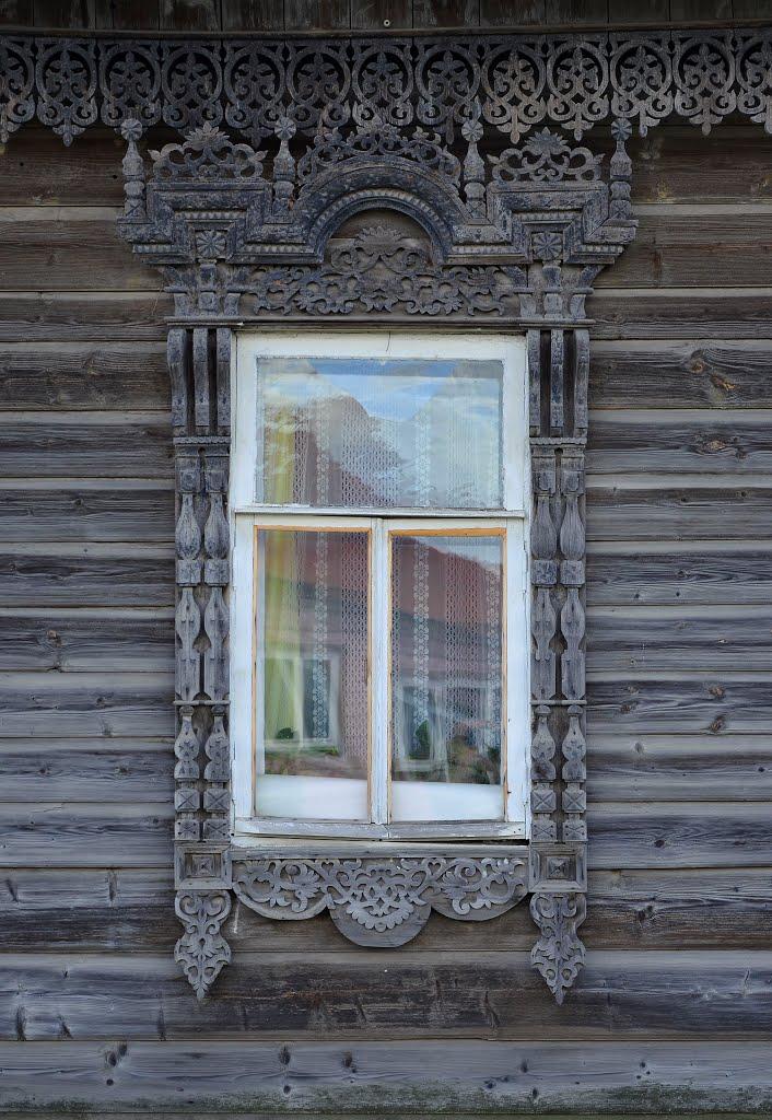 Резные окна Нерехты