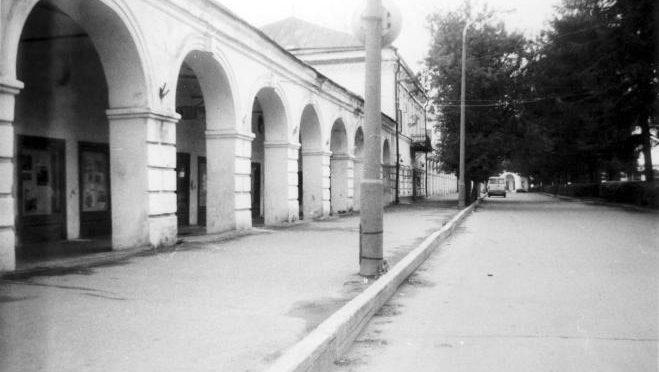 Масляные ряды в Костроме