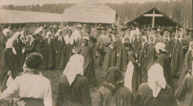 Колония-лечебница в усадьбе Никольское Костромского уезда