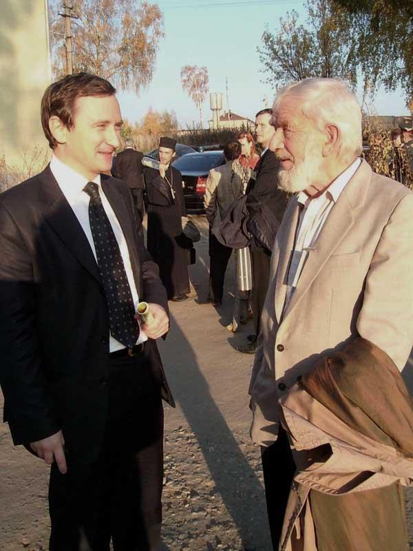 Р.А. Семёнов и А.В. Чуев