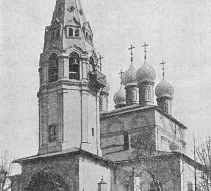 Богородицкая церковь на Московской улице (Козмодемьянская на Гноище)